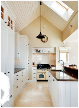 Natural light in the Kitchen