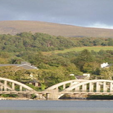 Kenmare Suspension Bridge Constructed 1932 - 1933